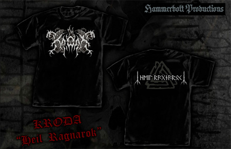 Merch Kroda Helcarpathian Black Metal