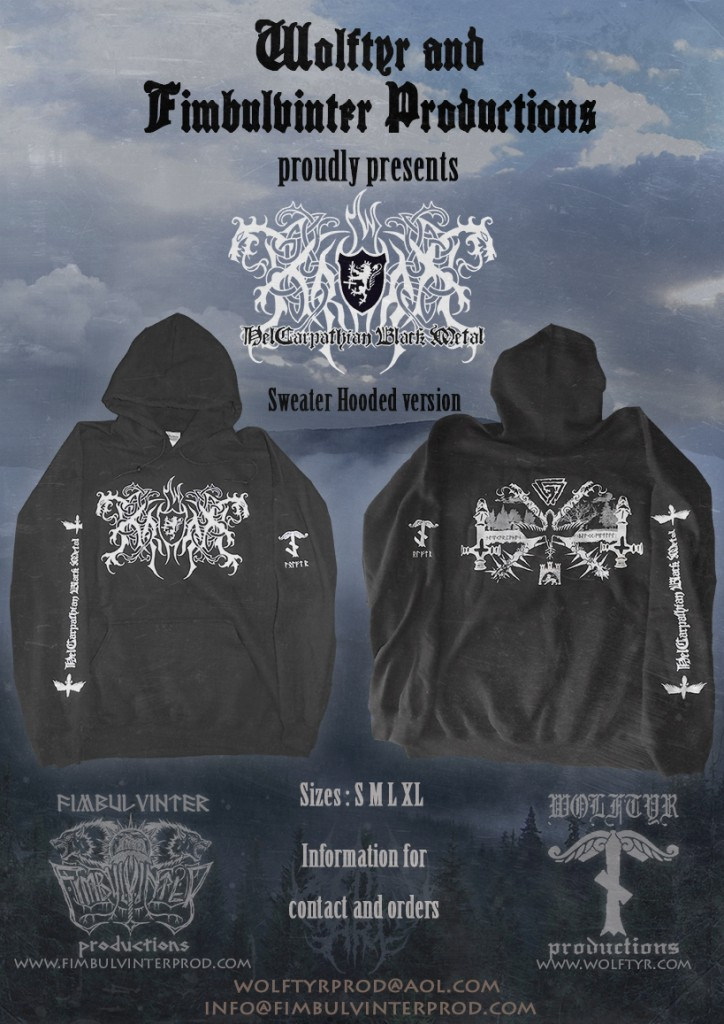 KRODA Sweater Hooded version