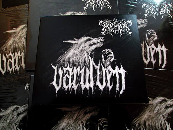 Varulven Digipak MCD released by PURITY THROUGH FIRE